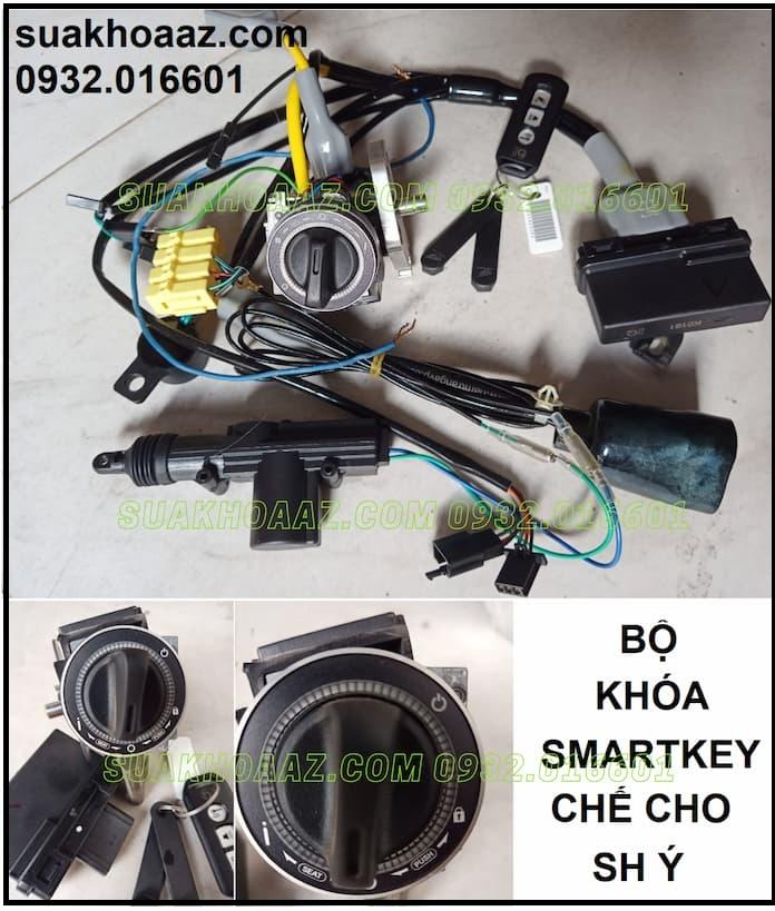 Bộ khoá Smartkey lắp cho SH Ý