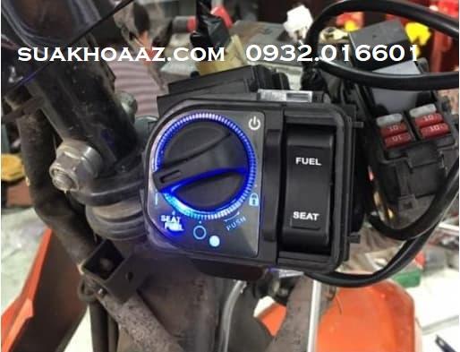 Độ ổ khóa Smartkey cho xe AirBlade