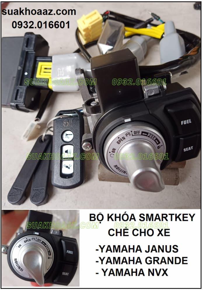 Bộ Khoá Smartkey gắn cho Yamaha Janus, Grande, NVX