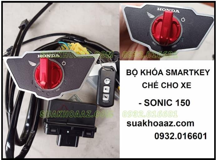 Bộ khóa Smartkey lắp cho Sonic