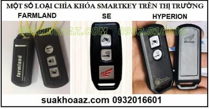 Một số chìa khóa Smartkey khác