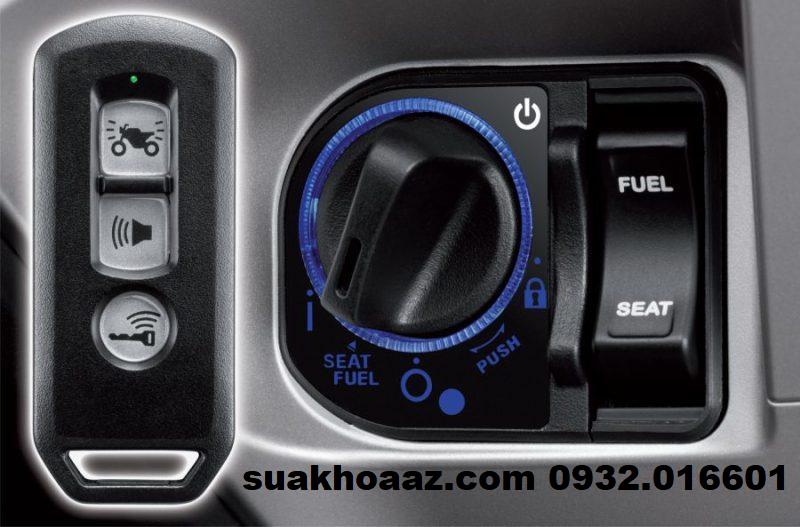 Ổ khóa chống trộm Smartkey Honda