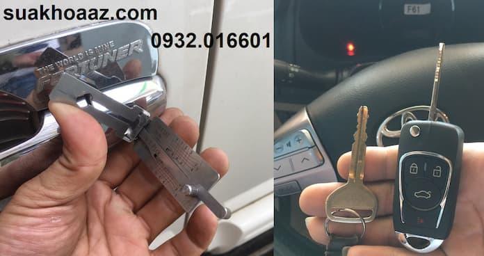 Mở cửa và làm chìa khóa ô tô Quận Bình Tân
