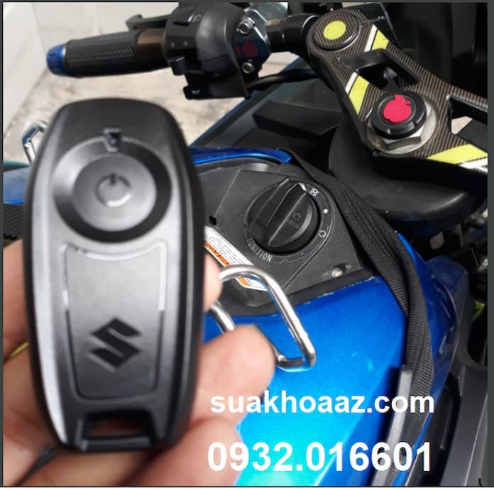 Làm chìa khóa Smartkey cho xe Suzuki GSX bị mất