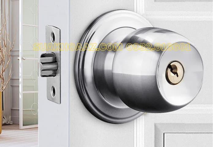 Sửa mở thay làm chìa ổ khóa cửa tay nắm tròn