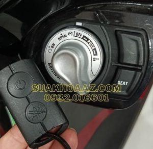 Làm lại chìa khóa Smartkey mới cho xe Janus